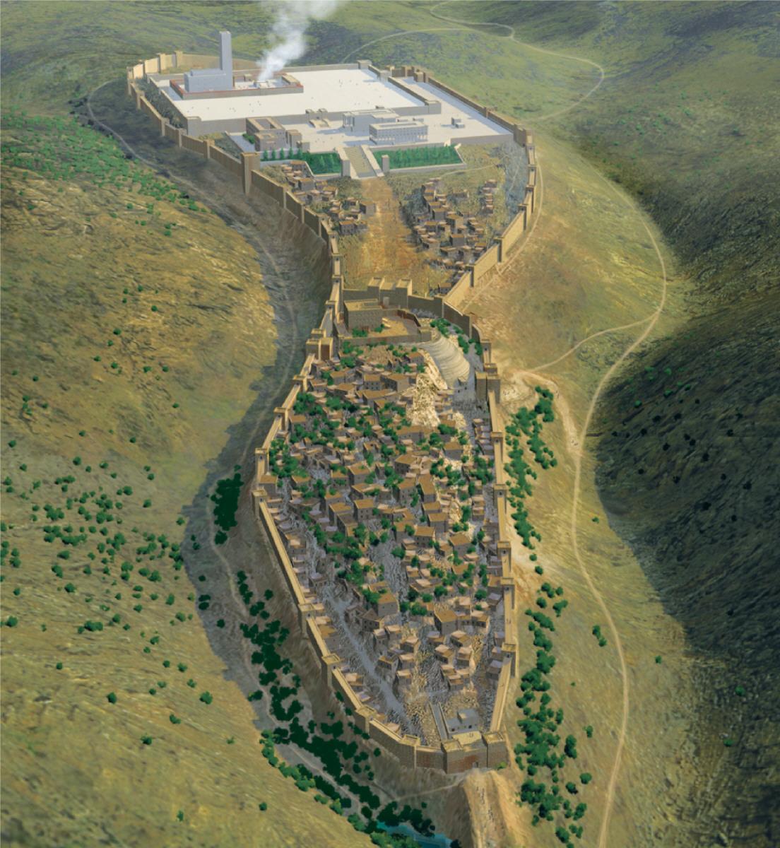 所罗门时期的耶路撒冷城