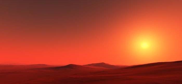 上图:火星的天空照片。这样的天空是无法进行天文观测的。事实上,太阳系的各大行星中只有地球有透明的大气层,适合观测宇宙: 1、火星的大气层充满着尘埃、天空黄褐色,不适合观测宇宙。 2、金星的大气层有硫酸形成的不透明云,不适合观测宇宙。 3、太阳系正好位于银河系中恒星和星云密度稀薄的区域,否则再好的天文望远镜也看不清宇宙。