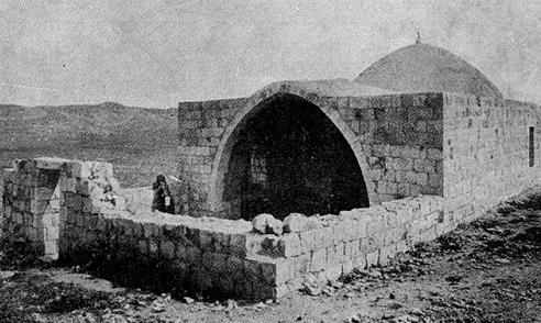 上图:位于示剑的约瑟墓。