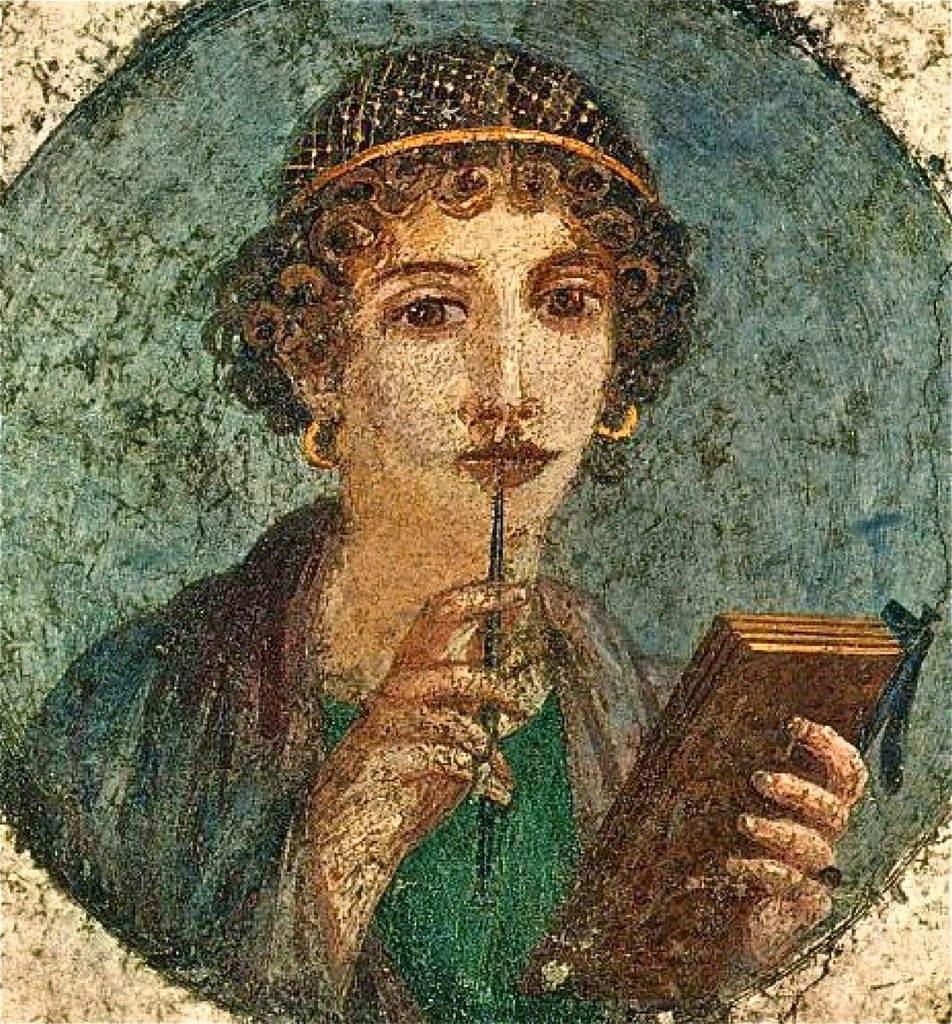 上图:庞贝城壁画上一位精心打扮的罗马妇女。彼得写了《彼得前书》之后十多年,维苏威火山于主后79年爆发,这幅壁画和城里精心打扮的妇女们都被埋在火山灰下,没有一样能存到永远。正如彼得所说的:「你们不要以外面的辫头发,戴金饰,穿美衣为妆饰,只要以里面存着长久温柔、安静的心为妆饰;这在神面前是极宝贵的」(彼前三3-4)。