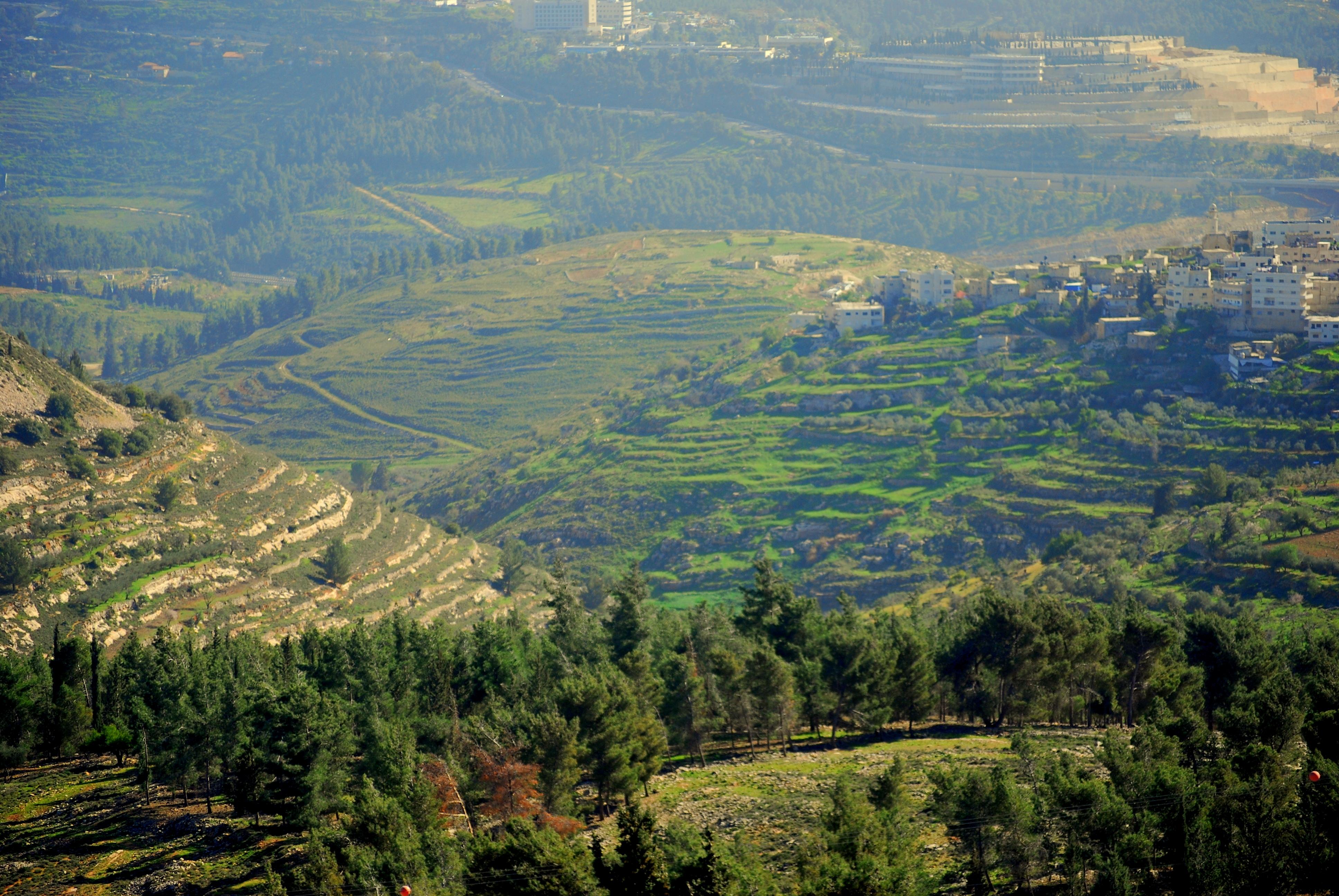 上图:便雅悯的基比亚,这里是以色列第一个王扫罗的家乡。