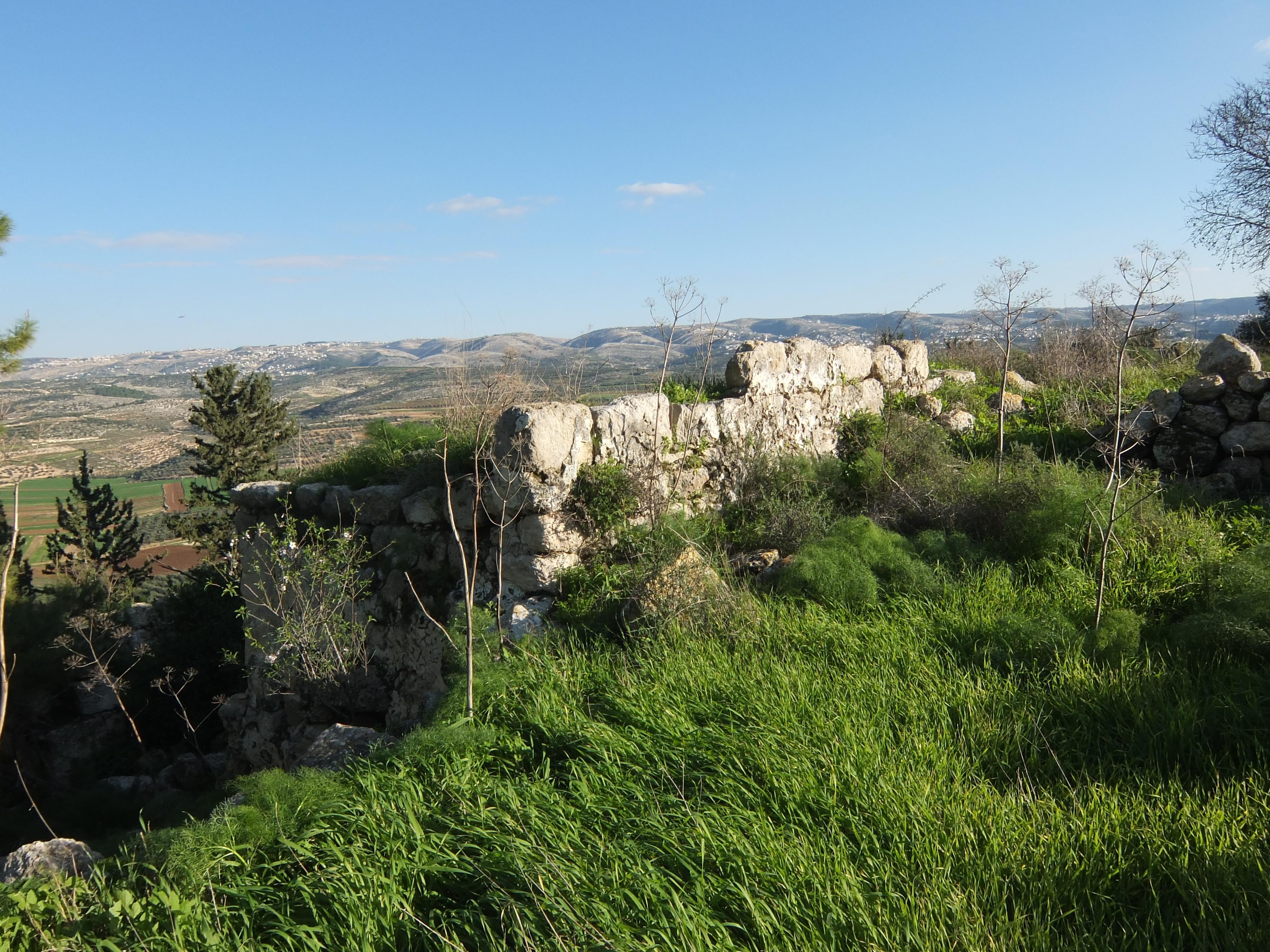 上图:亚杜兰城遗址。