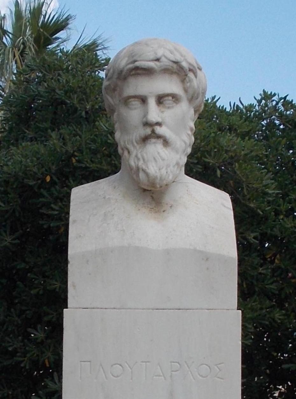 上图:普鲁塔克(Plutarchus/Plutarch,主后46年-120年)是生活在罗马时代的希腊作家,无论基督教或是非基督徒作家都推崇其作品。普鲁塔克的著作颇为完整地保存在拜占庭的图书馆,其传世作品的数量在古代作家中数一数二。他的作品在文艺复兴时期大受欢迎,莎士比亚不少剧作都取材于他的记载。他说:有德行的妇女「应当谨守,有外人在场时,不说话......妇女要说话,就对丈夫说,或透过丈夫荐言」(引自Advice to Bride and Groom, 31-32)。