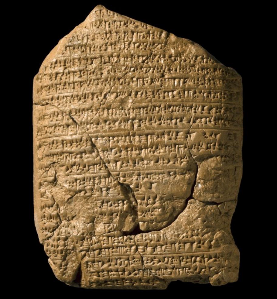 上图:19世纪出土的巴比伦编年史泥板(Babylonian Chronicle)是一系列记录了新巴比伦王国主要历史事件的楔形文字泥板,可能由巴比伦占星学家利用天文观测日志来对照并记录当代大事,现存于大英博物馆。图中这块泥板记录了主前605-594年三件大事:1、迦基米施战役;2、尼布甲尼撒二世登基;3、主前597年3月16日攻陷耶路撒冷,立西底家为傀儡王。