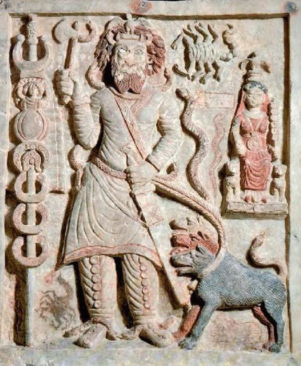 上图:内尔伽勒(Nergal)是苏美尔神话中的冥王,可能就是「匿甲」(王下十七30)、「惊吓的王」(伯十八14)。